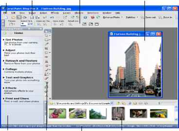 Corel Paint Menu